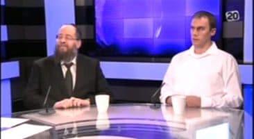 ראיון עם גבי רביבו והרב הבר