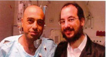 """ישראל רוסט תורם כליה לנכה צה""""ל"""