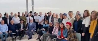 Moshe Lyon meets with 50 kidney donors from Jerusalem