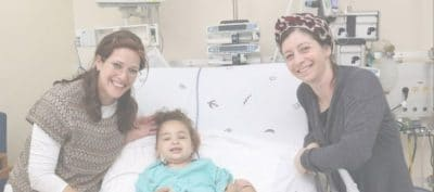 שושנה כהן תורמת כליה לרוני בן השנתיים